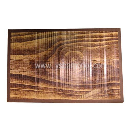 Printing Painted Bamboo Rugs