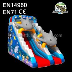 Hot Sales Inflatable Dolphin Slide