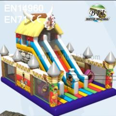 Inflatable Amusement Park Water Slides