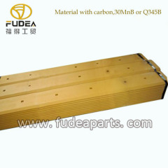 boron steel material cutting edge for bulldozer