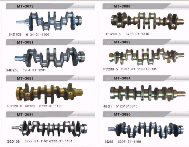 S4D1056134-31-1100 CRANKSHAFT FOR EXCAVATOR