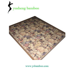 printing pattern bamboo carpet