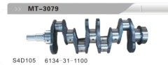 S4D105 6134-31-1100 CRANKSHAFT FOR EXCAVATOR