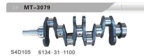 S4D105 6134-31-1100 CRANKSHAFT FOR EXCAVATOR