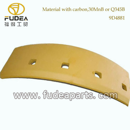 motor grader Hot cupped cutting edge and end bit