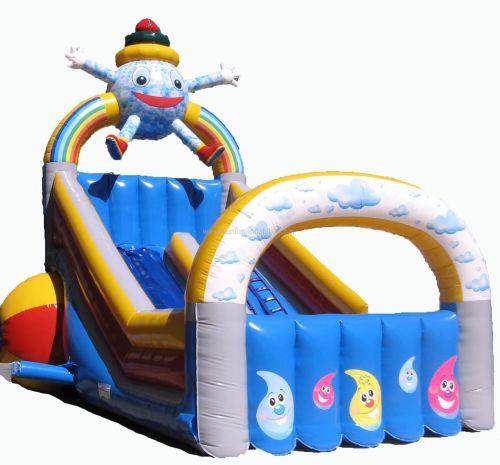 Amusement Park Water Slide