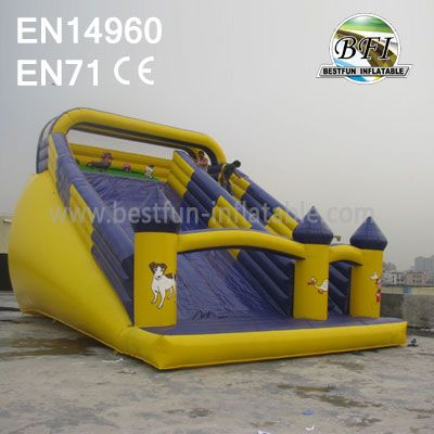 Yellow Small Water Slide