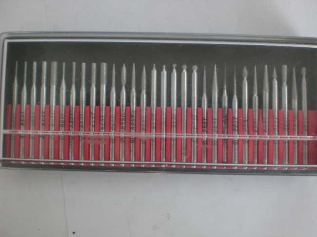 30pc diamond grinding head set