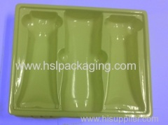 PS flocking Tray For cosmetic/electronic/gift