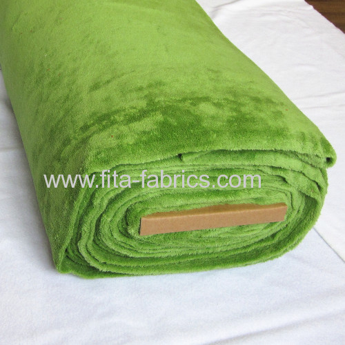 Polyester dyeing coral fleece for blanket