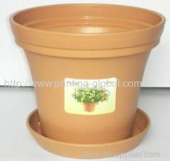 Heat transfer film for flower pot cover