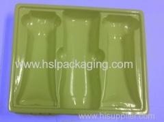 Custom-made flocking blister comestic packaging box