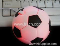 Mini Football shape mouse for promotion