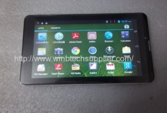 7Inch 3g built in gps bluetooth mtk6577 dual sim tablet pc