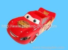 Heat transfer film for toy car