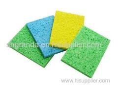 Colorful Cellulose Sponges Compressed Cellulose Sponge kitchen cleaning sponge