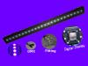 24*3W led UV par light