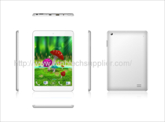 7.85inch mtk8389 quad core 3g bluetooth gps tablet pc