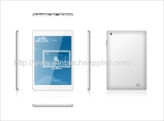 3g 7.85inch tablet pc mtk8389 quad core bluetooth gps