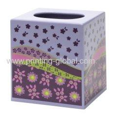Heat Transfer Sticker For Plastic Tissue Container