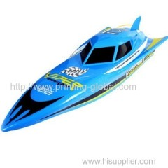 Heat transfer film for toy boat