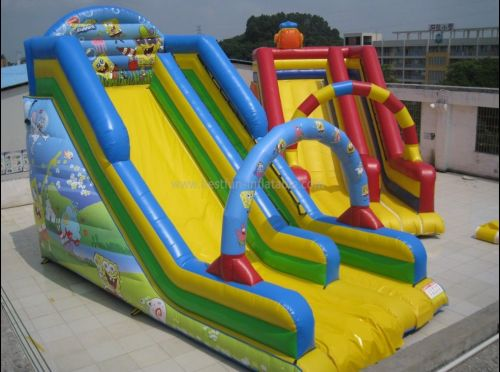 Inflatable New Slide Spongebob Games