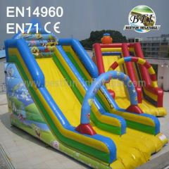 New Design Inflatable Spongebob Slide