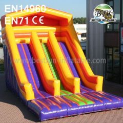 Colorful Inflatable Commercial Water Slide