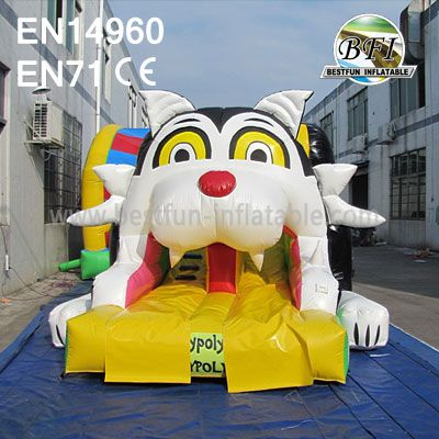 Inflatable Tiger Slide For Sale