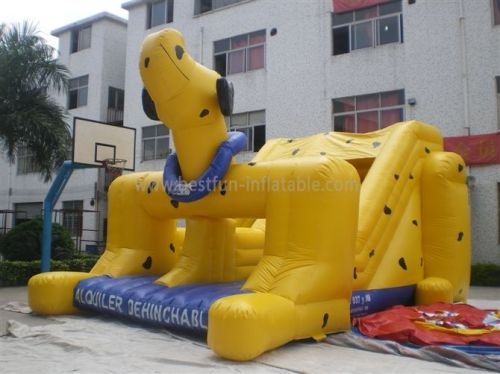 Dog Inflatable Slide