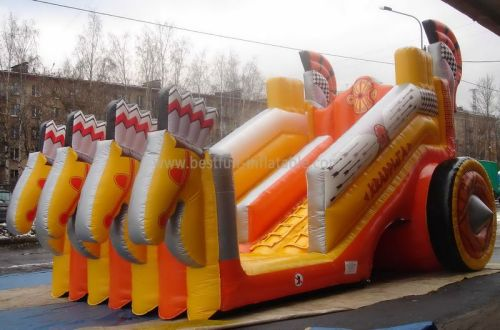 Russia Carriage Inflatable Titanic Slide