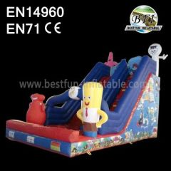 Sponge Inflatable Slide For Sale