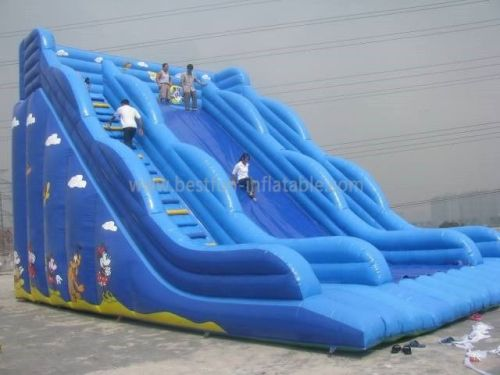 Party Inflatable Giant Slide For Adult
