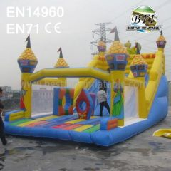 Inflatable Bounce With Slide For Sale