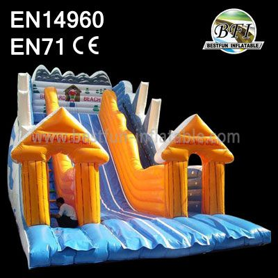 Double Lanes Inflatable Slide Best Quality