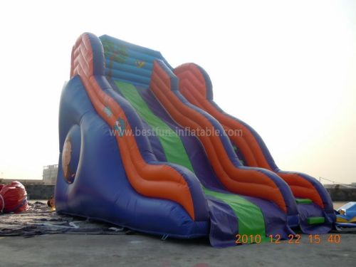 Backyard Cheap Inflatable Water Slides