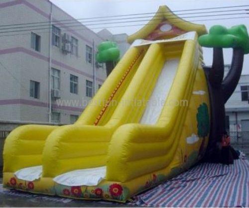 Inflatable Tree House Slide