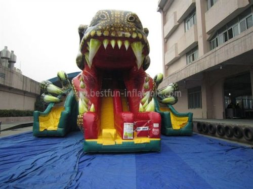 Inflatable Dinosaur Slide With High Quality