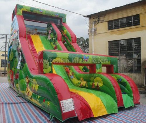 Jungle Inflatable Slide For Rent And Sale