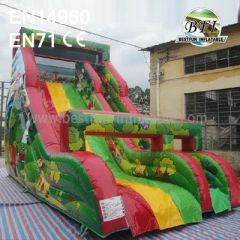 Inflatable Jungle Slide For Parties