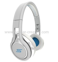 SMS Audio Street by Mini 50 Wired On-Ear DJ Headphones white