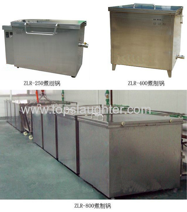 Meat Processing Equipment Cooking Pot