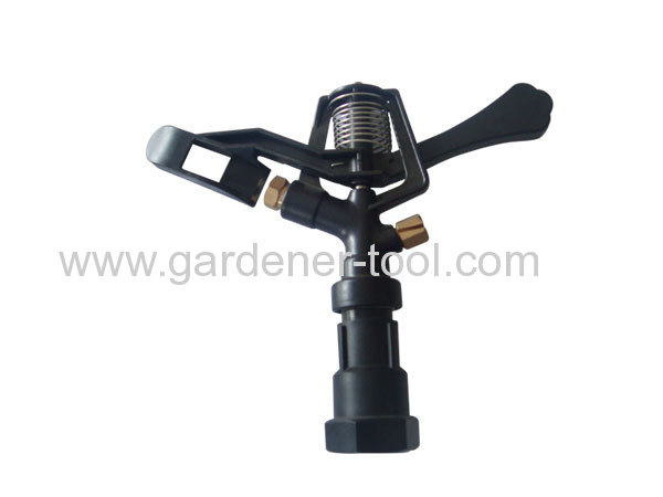 Plastic Impulse Sprinkler With G3/4Female Thread Tapping.