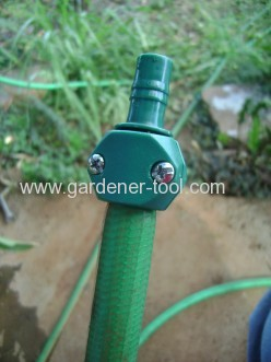 Plastic Garden Hose mender For joint 2pcs hose together