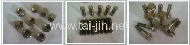 Titanium Ti Fastener bolt