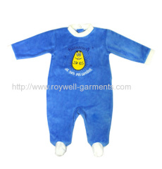 Easy dressing and adorable style baby jumpsuit