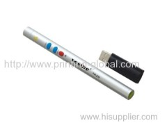 Hot stamping film for metal pen pole