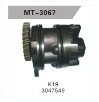 K19 OIL PUMP FOR EXCAVATOR