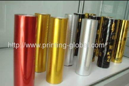 Thermal transfer film for metal scutcheon