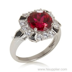 Ruby Sterling Silver 925 ring